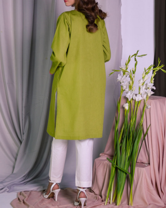 Olivia flecks basic kurta