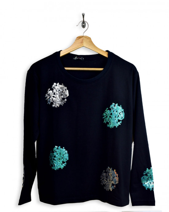 Chenille Embroidered T-Shirt