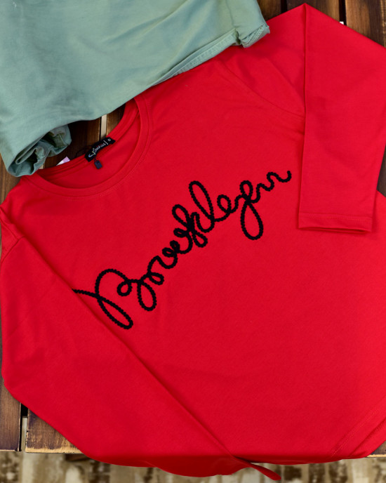 Brooklyn Embroidered T-Shirt
