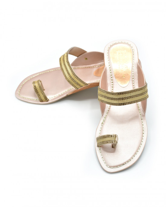 Ladies Kolhapuri Slipper Art # 50-52 (SNFT)