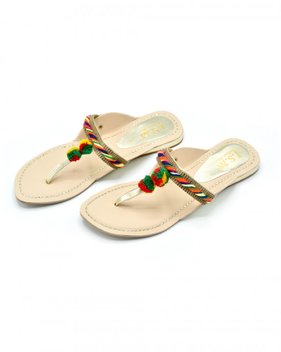 Ladies Kolhapuri Slipper Art # 50-54 (SNFT)