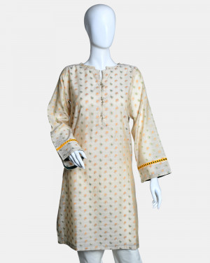 Jacquard Semi Formal Kurta
