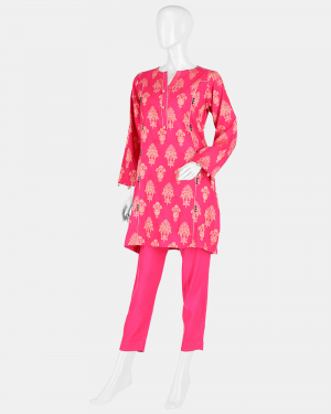 Jacquard 2pc Suit