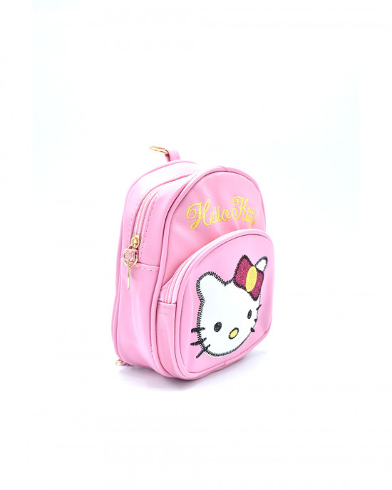 Adorable Hello Kitty Backpack - Baby Pink