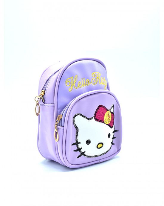 Adorable Hello Kitty Backpack - Purple