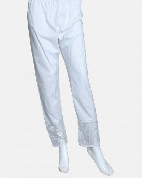Woven Embroidered Pant